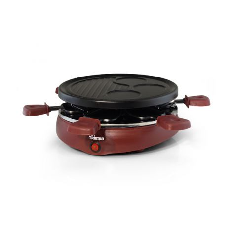 RACLETTE GRILL 6 PERSONAS TRISTAR 25 CM