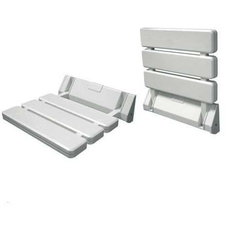 ASIENTO ABATIBLE CORFU BLANCO INTERBATH