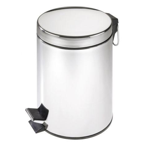 CUBO PEDAL INOX BRILLO WENKO 3 L