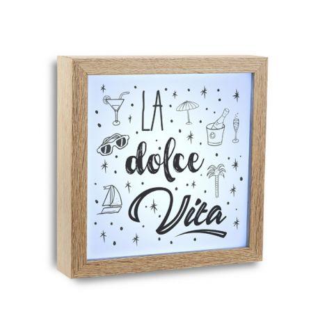 MARCO LUZ LA DOLCE VITA VERSA 20X20X4 CM