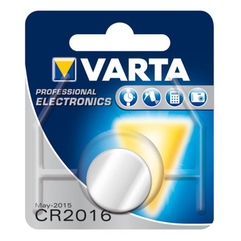 PILA BOTON BL1 CR2016 LITIO VARTA 3 V