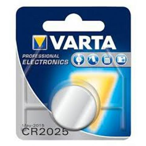 PILA BOTON BL1 CR2025 LITIO VARTA 3 V