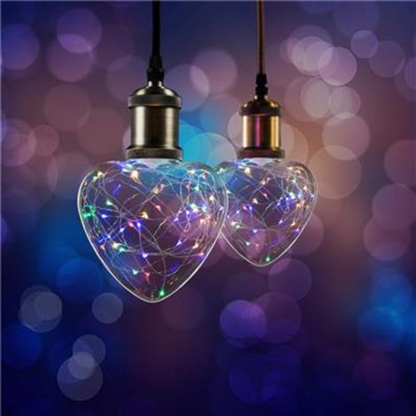 BOMBILLA LED STARRY CORAZON SMARTWARES 1.5 W