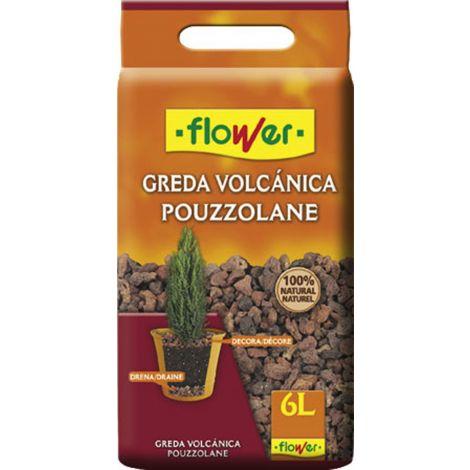 SACO PIEDRA VOLCANICA 12/18 FLOWER 6 L