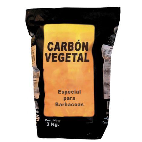 CARBON VEGETAL BARBACOA SACO  10 KG