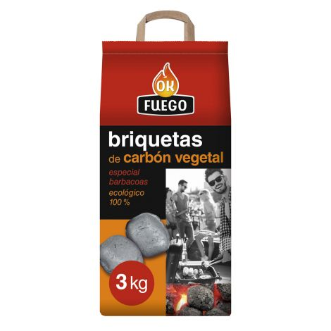 CARBON VEGETAL AUTOENCENDIDO FLOWER 3 KG