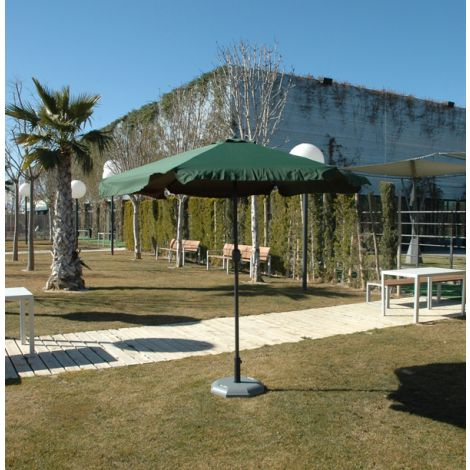 PARASOL ALUMINIO VERDE PROFER GREEN 2.5 M