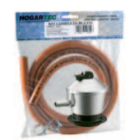 KIT BUTANO 1.5 M. C/REGULADOR HOGARTEC 29 MBAR