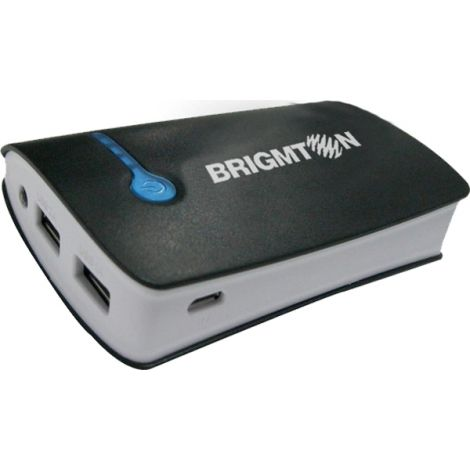 BATERIA PORTATIL CARGA MOVIL BRIGMTON 6000 MAH