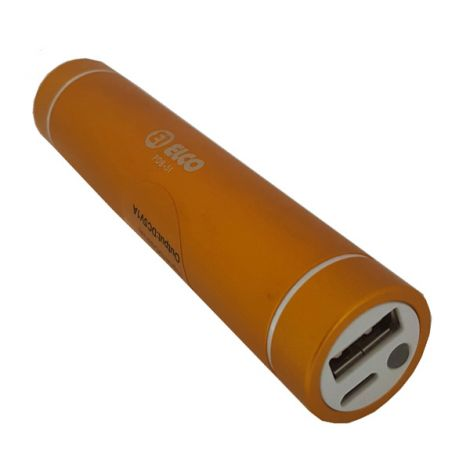 BATERIA PORTATIL CARGA MOVIL ELCO 2600 MAH