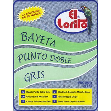 BAYETA PUNTO GRIS B/I LORITO 33X45 CM