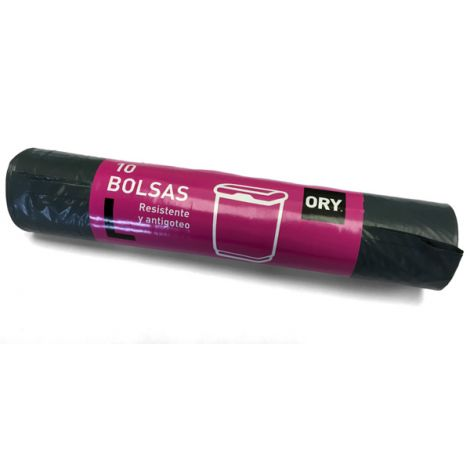 BOLSA BASURA B.P 10U AZUL ORY 60X80 CM