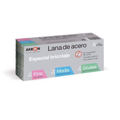 ESTROPAJO LANA ACERO SURTIDO BARLESA 150 G