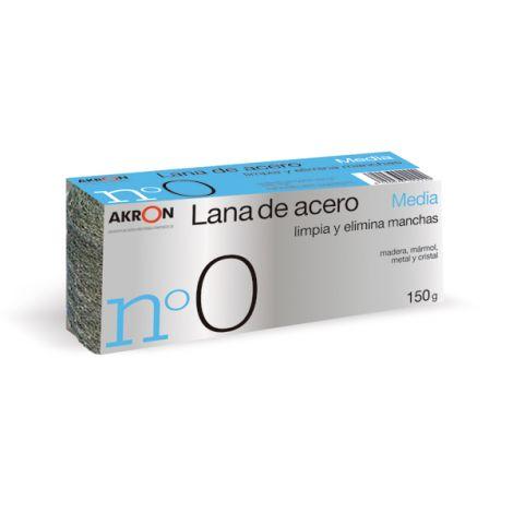 ESTROPAJO LANA ACERO MEDIA N.0 BARLESA 150 G