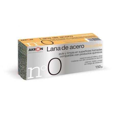 ESTROPAJO LANA INOX MEDIA N.0 BARLESA 150 G