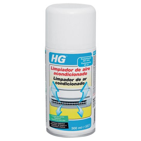 LIMPIADOR AIRE ACONDICIONADO HG 300 ML