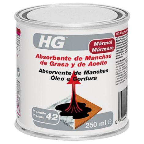 ABSORBENTE MANCHAS GRASA/ACEIT HG 0.25 L