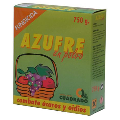 AZUFRE CUADRADO 750 G