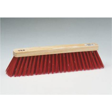 ESCOBON BARRENDERO FIBRA ROJA BARBOSA 520X65 MM