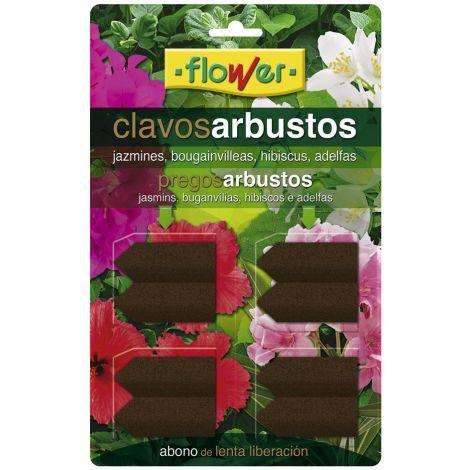 ABONO ARBUSTOS 8 CLAVOS FLOWER 10 G