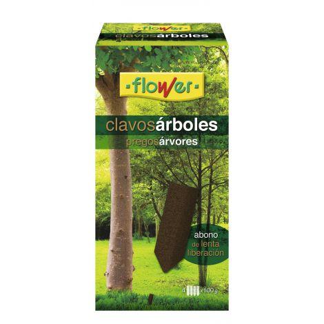 ABONO ARBOLES 4 CLAVOS FLOWER 100 G