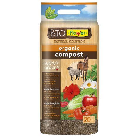 ABONO COMPOST ORGANICO FLOWER 20 L