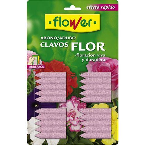 ABONO CLAVO FLOR BL/20 U FLOWER