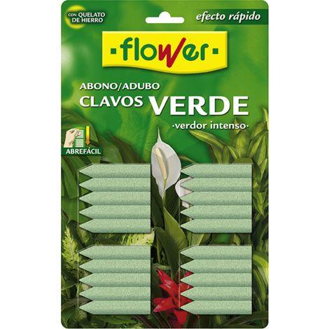 ABONO CLAVO VERDE BL/20 U FLOWER