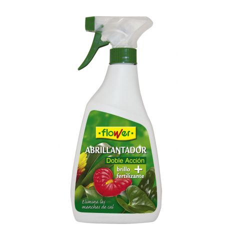 ABRILLANTADOR+ABONO PLANTAS FLOWER 500 ML