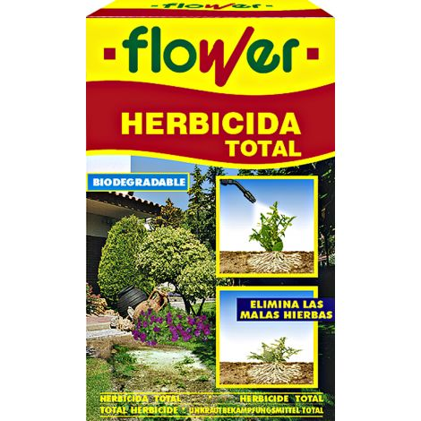 HERBICIDA TOTAL SISTEMICO FLOWER 50 ML