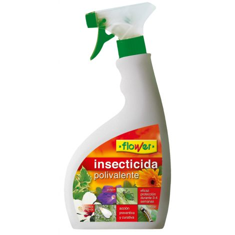 INSECTICIDA POLIVALENTE SISTEM FLOWER 750 ML