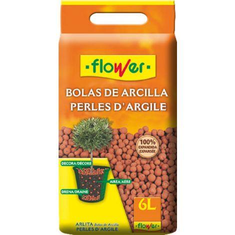 BOLAS DE ARCILLA EXPANDIDA FLOWER 6 L