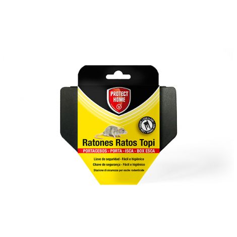 PORTACEBOS RATONESS 6x1 PROTECT HOME