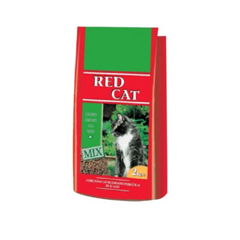 COMIDA GATOS RED CAT MIX 2 KG