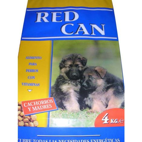 COMIDA PERROS CACHORROS RED CAN 4 KG