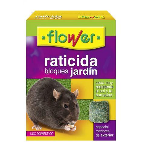 RATICIDA BLOQUES JARDIN FLOWER 200 GRS