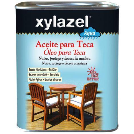 ACEITE PARA TECA AQUA MIEL XYLAZEL 750 ML
