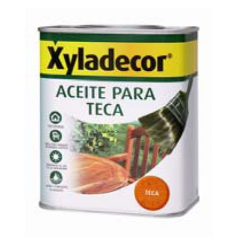 ACEITE PARA TECA INCOLORO XYLADECOR 5 L