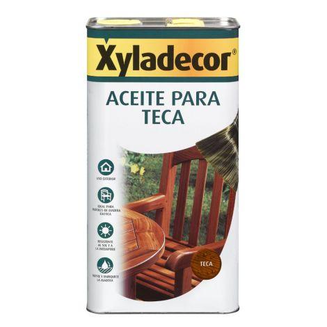 ACEITE PARA TECA INCOLORO XYLADECOR 750 ML