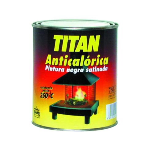 ANTICALORICO 350º NEGRA SAT TITAN 125 ML