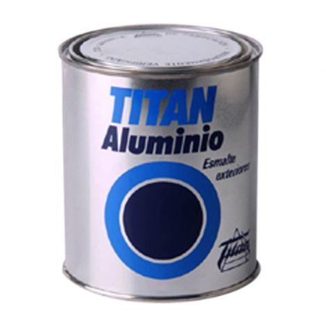 ESMALTE EXTERIOR ALUMINIO TITAN 50 ML