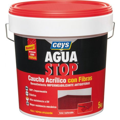 ANTIGOTERAS CAUCHO BLANCO AGUASTOP CEYS 5 KG