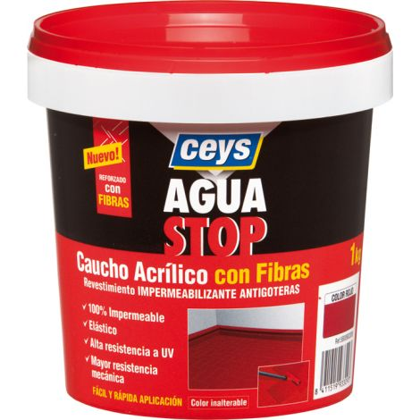 ANTIGOTERAS CAUCHO BLANCO AGUASTOP CEYS 1 KG
