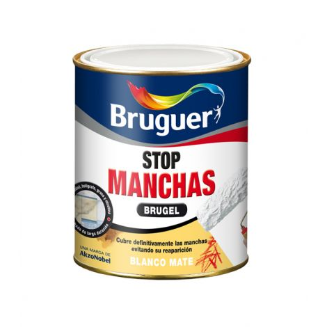 PINTURA ANTIMANCHAS S/OLOR BRUGEL 750 ML