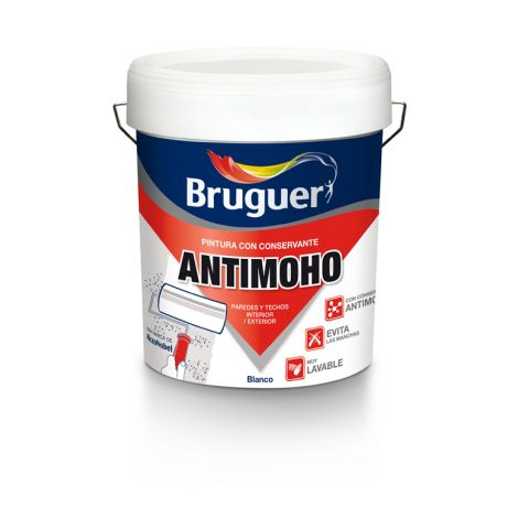 ANTIMOHO PINTURA BRUGUER 4 L