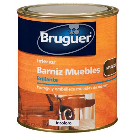 BARNIZ MUEBLES BR INCOLORO BRUGUER 4 L