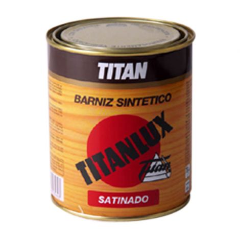 BARNIZ SATINADO INCOLORO TITANLUX 4 L