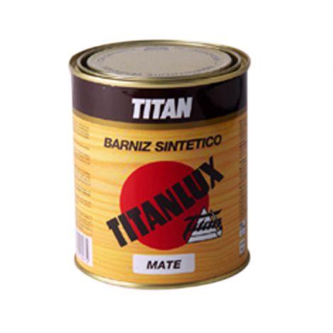 BARNIZ SINTETICO MATE TITANLUX 125 ML