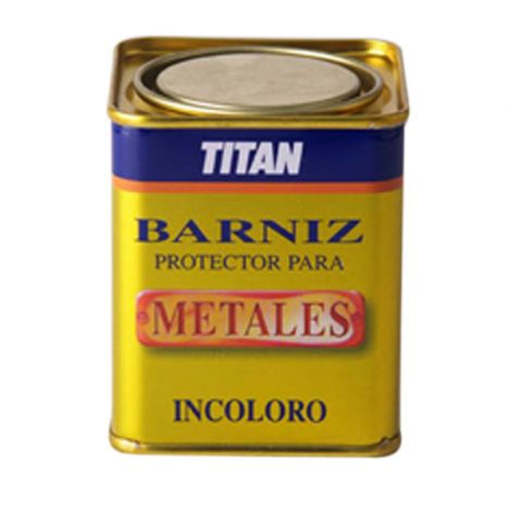 BARNIZ PROTECTOR METALES TITAN 250 ML