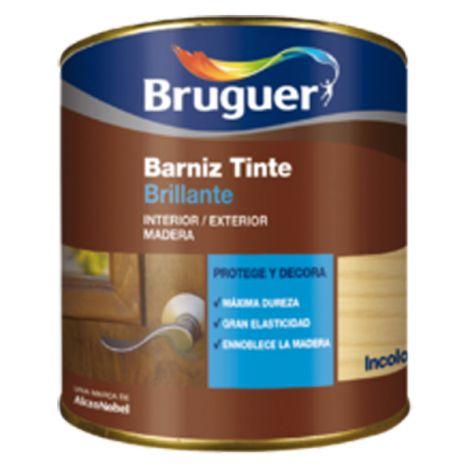 BARNIZ TINTE BR CAOBA BRUGUER 250 ML